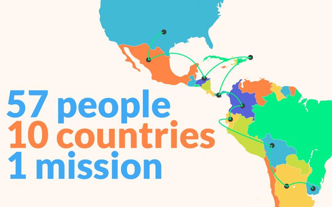 Come 57 persone in 10 paesi hanno diffuso  la Laudato Si': attraverso un audiolibro.